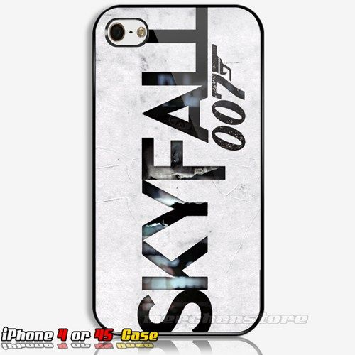James Bond Skyfall 007 Custom iPhone 4 or 4S Case | Merchanstore - Accessories on ArtFire