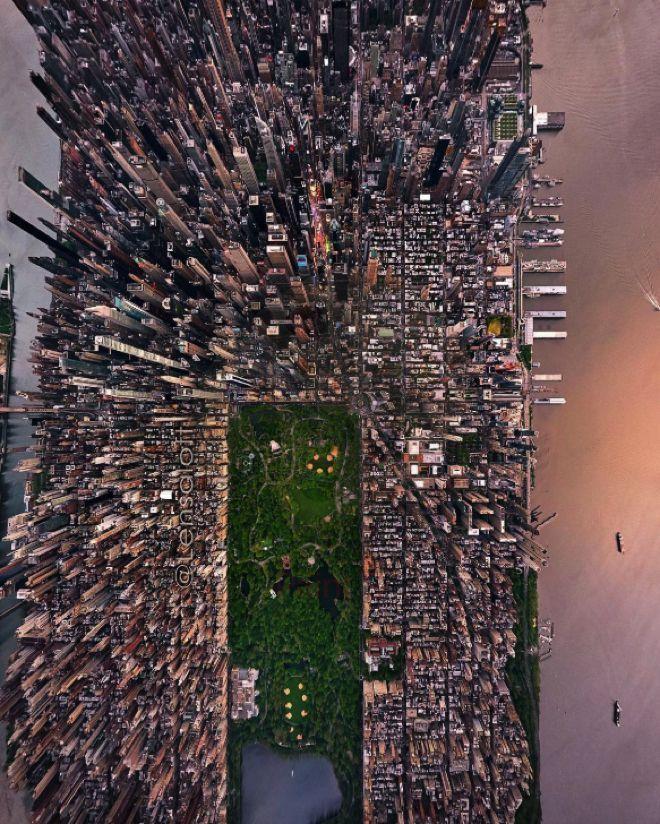 Ces photos aériennes de New York sont à couper le souffle #newyork Ces photos aériennes de New York sont à couper le souffle