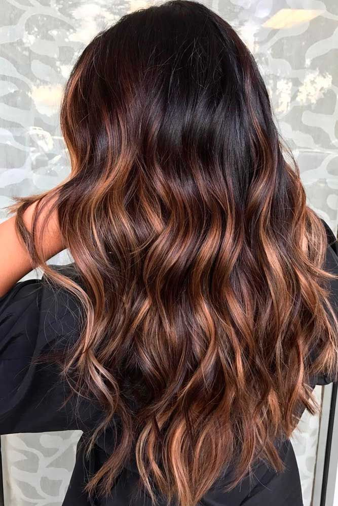 43 Hottest Brown Ombre Hair Ideas   Hairstyles   Pinterest   Brown     Brown ombre hair is all the rage this season  To give you some ideas which  shades to combine  we have a collection of photos