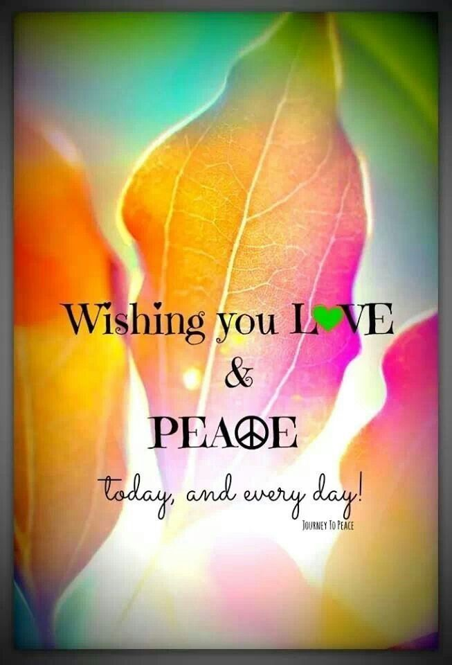 Day love life quotes quotes positive quotes quote peace happy