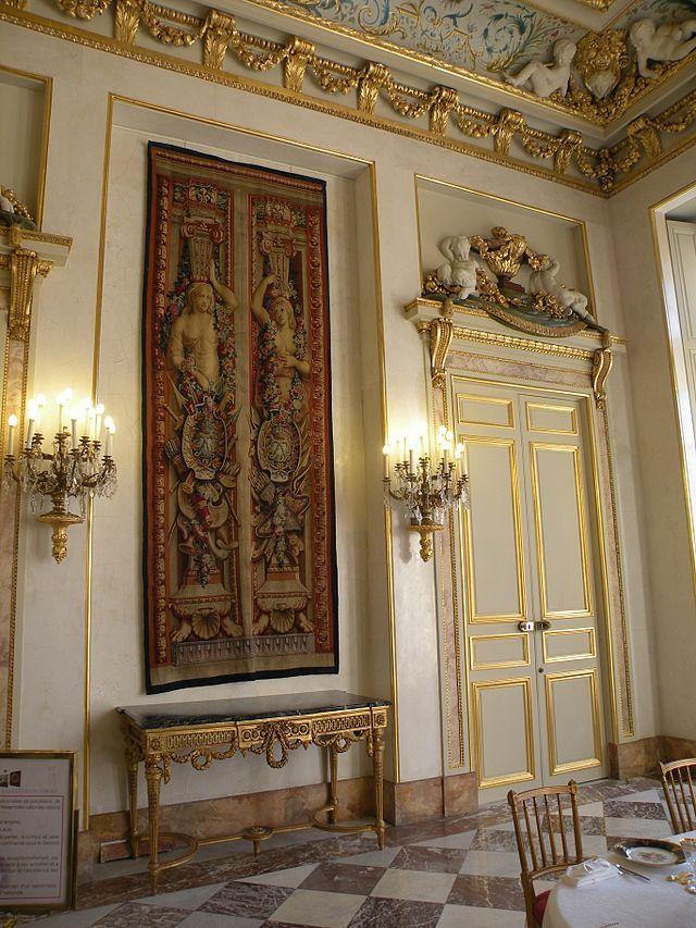 Paris, Palais Bourbon (Assemblée Nationale) - Salle-à-manger -détail