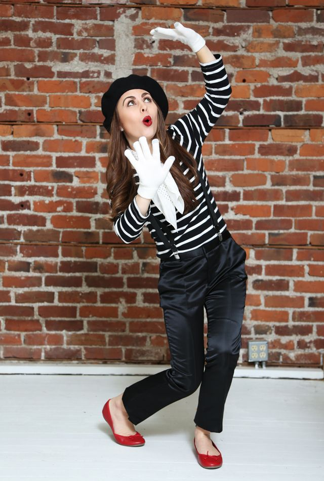 fyc halloween french mime - Mime For Halloween