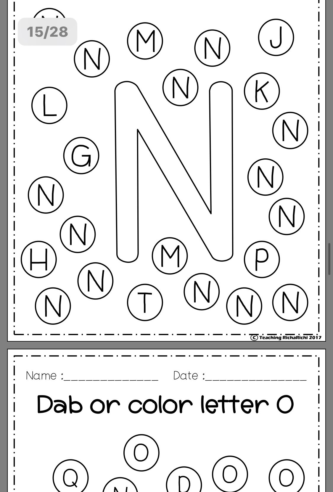 Pin By Joan Chang On Letters Worksheets