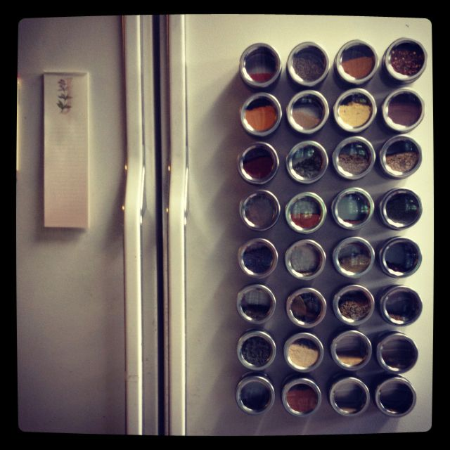 Our magnetic seasoning tins. A perfect solution to a common problem.