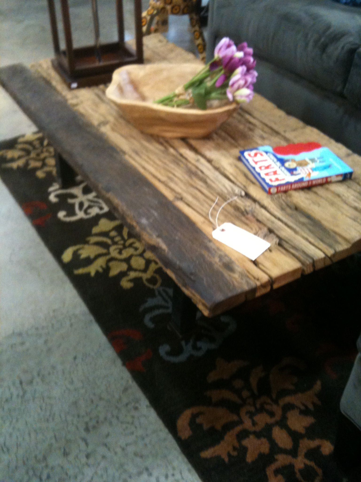 Rustic Driftwood Coffee Table I Like The Top But Would Change The Underneath Rustic Coffee Table Sets Coffee Table Rustic Coffee Tables [ 2048 x 1536 Pixel ]