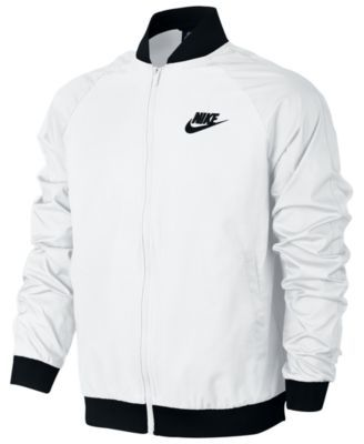 Nike Men's Woven Players Bomber Jacket Black XL | Products