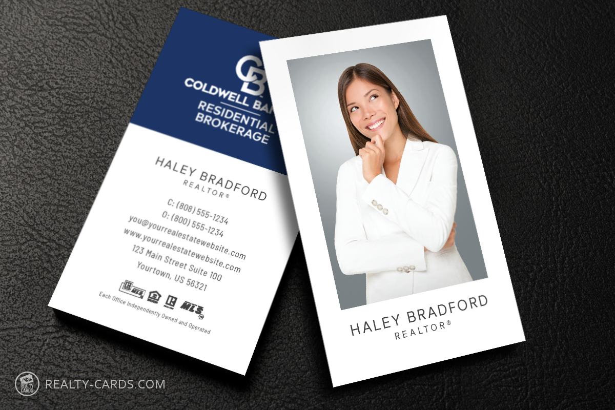 Unique Coldwell Banker Business Card Templates Realtor Business Cards Business Cards Online Free Business Card Templates