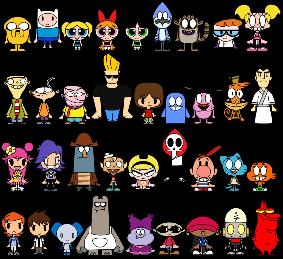 Cartoon Characters Names : Cartoon network pacs by limeth usefull pinterest