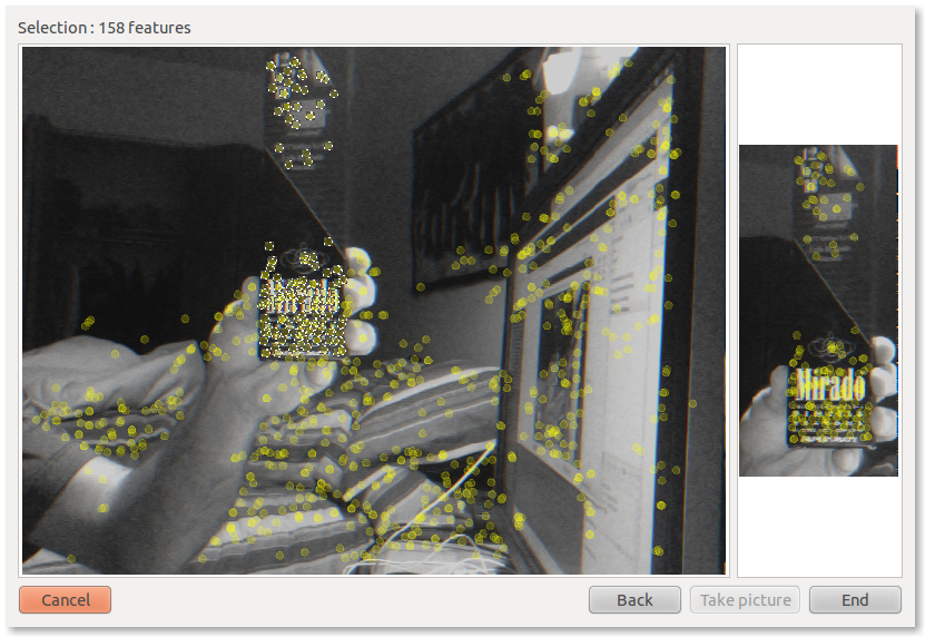 find-object - Simple Qt interface to try OpenCV