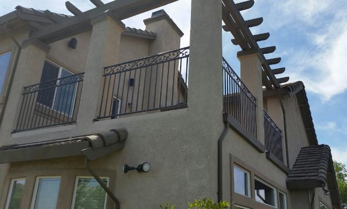 Wrought Iron Railings Rancho Murieta, Hand Railings ...