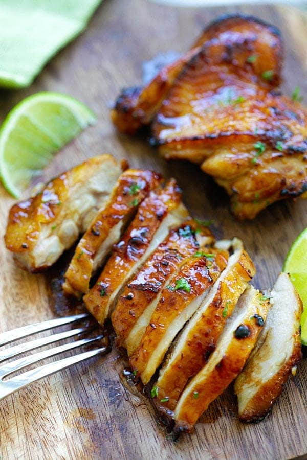 Honey Lime Chicken - Rasa Malaysia #honeylimechicken Honey Lime Chicken - Rasa Malaysia #honeylimechicken
