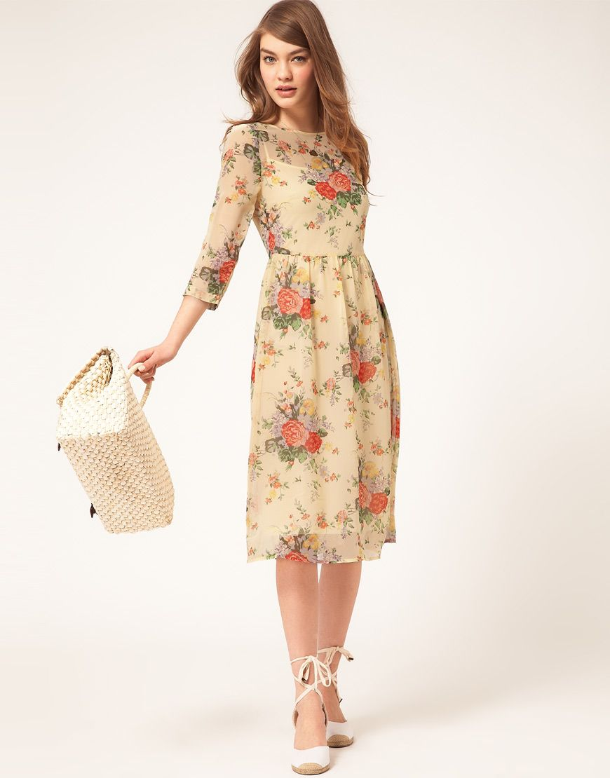 Elegant But Sweet Love This Spring Dress Easter Dresses For Womenfloral
