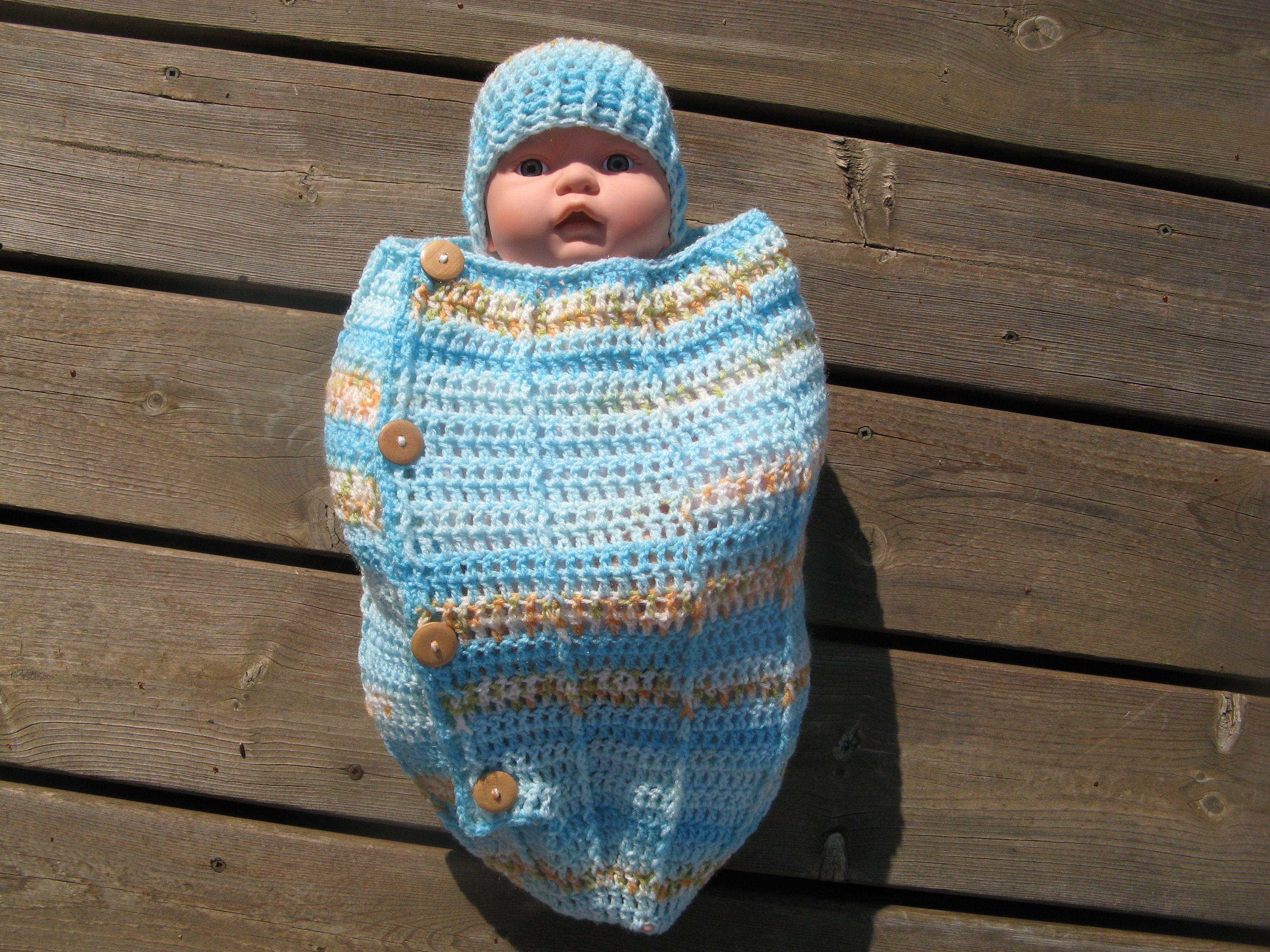 Lujoso Capullo Patrón De Crochet Libre Para Bebé Friso - Ideas de ...