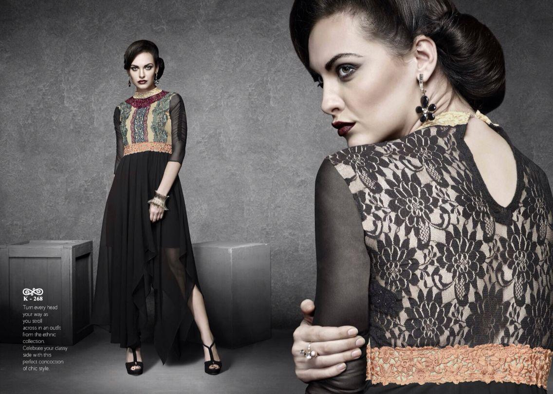 Designer ready to wear long gown kurti designer kurtis