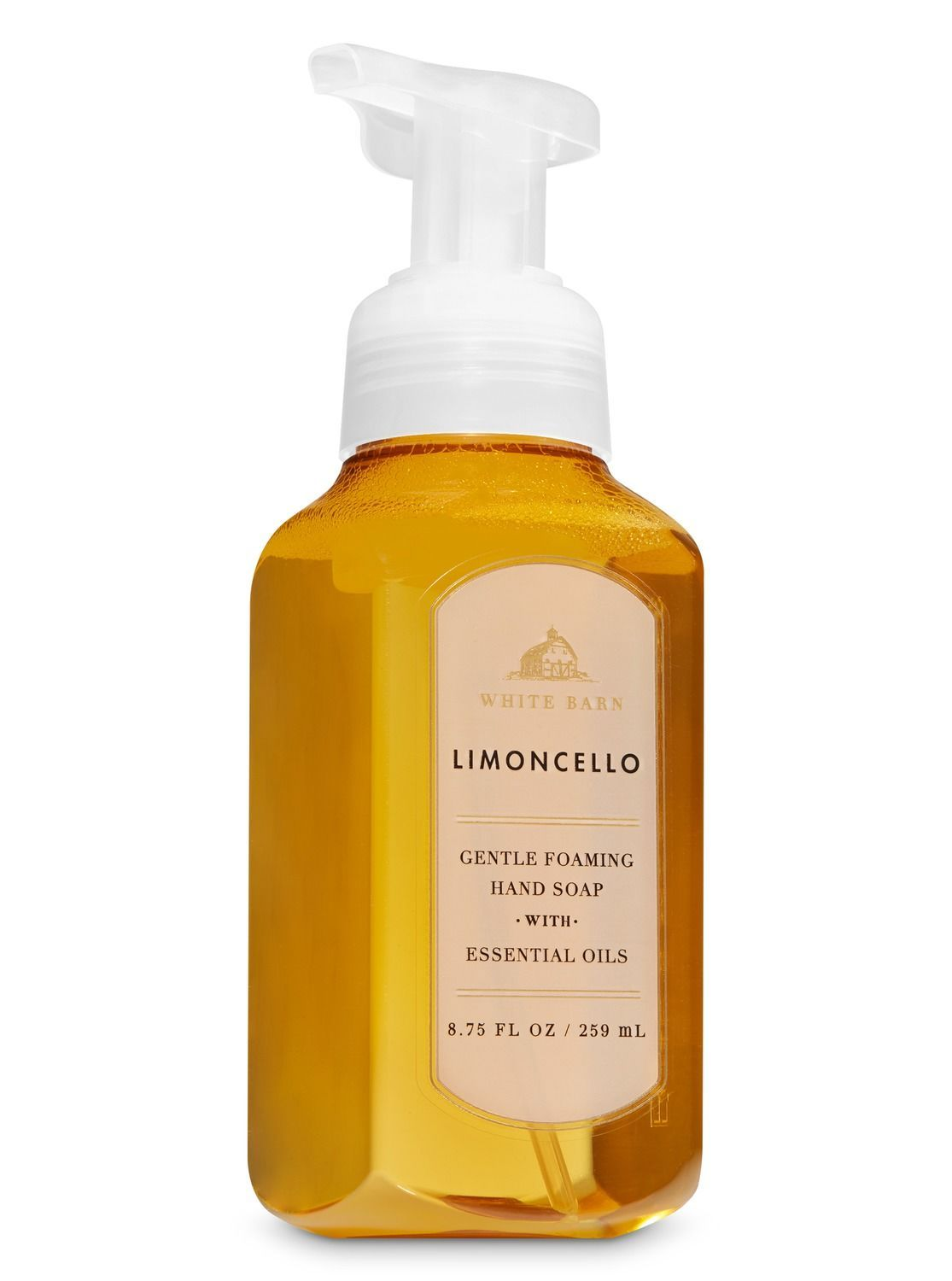 White Barn Limoncello Gentle Foaming Hand Soap By Bath Body