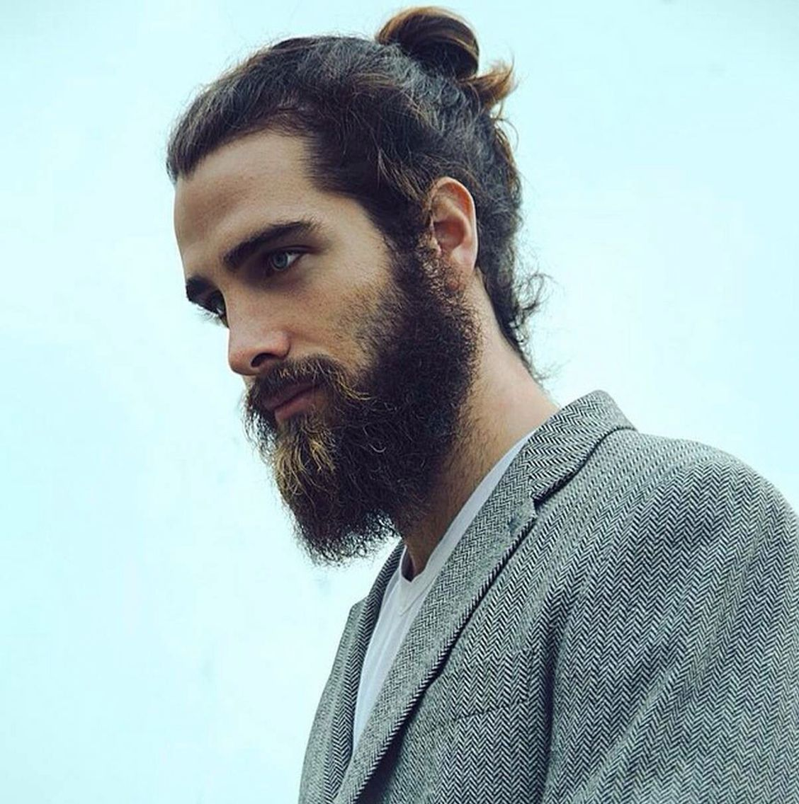 34 Best Asians With Beards Images On Pinterest: Barbas Largas