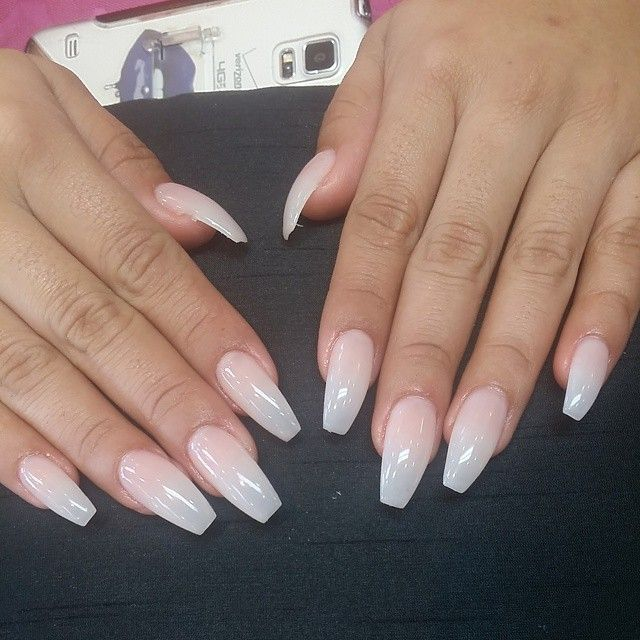 natural ballerina acrylic nails - Google Search | Nail | Pinterest ...
