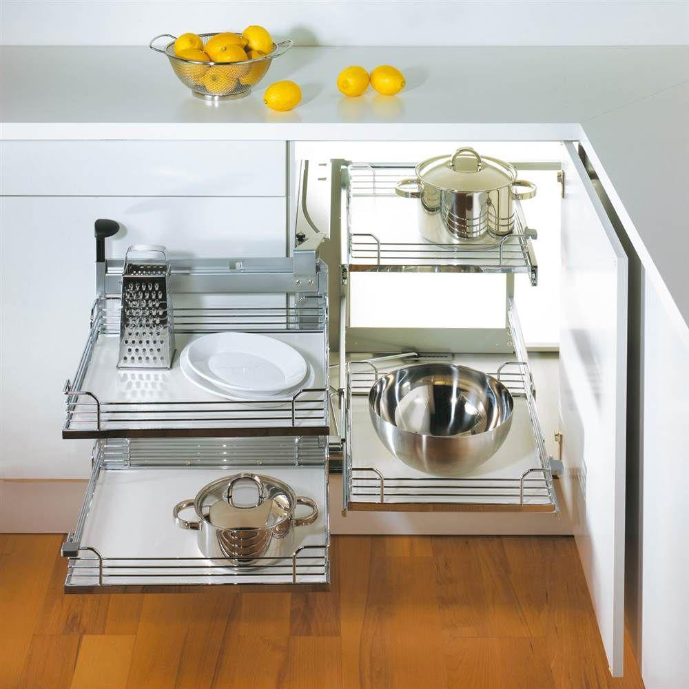 Best Magic Corner Ii Frame W Left Swing Kitchen Corner 400 x 300
