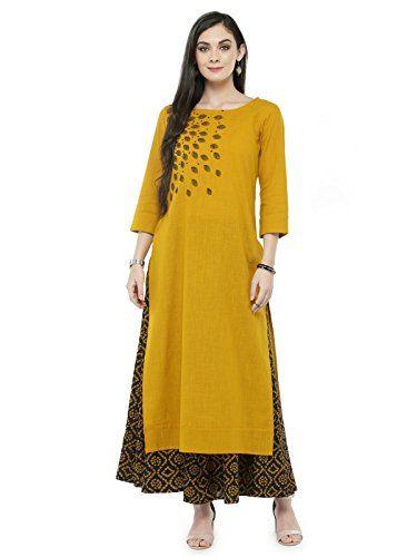 6ee43642d59 Manas Crafts Indian Women Designer Kurta Kurti Bollywood ... https   www