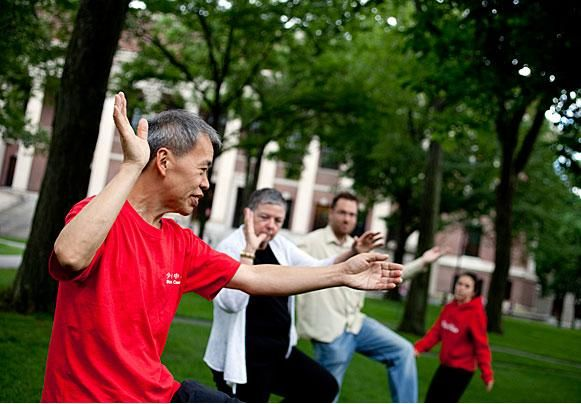 http://taichi-europe.com/  Research around the world has shown that Tai Chi Reduces Stress, Anxiety and Builds Immunity.  It improves everyday physical functioning, improves cardiac health and generates a feeling of well being.  It also alleviates the symptoms of many diseases including, helping reduce chronic pain, Lower Back Pain, aids Arthritis, helps lower blood pressure,.  And as if that is not enough helps you sleep better too.
