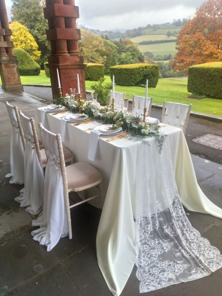 We Loved Supplying The Chairs And Styling The Table For This Shoot