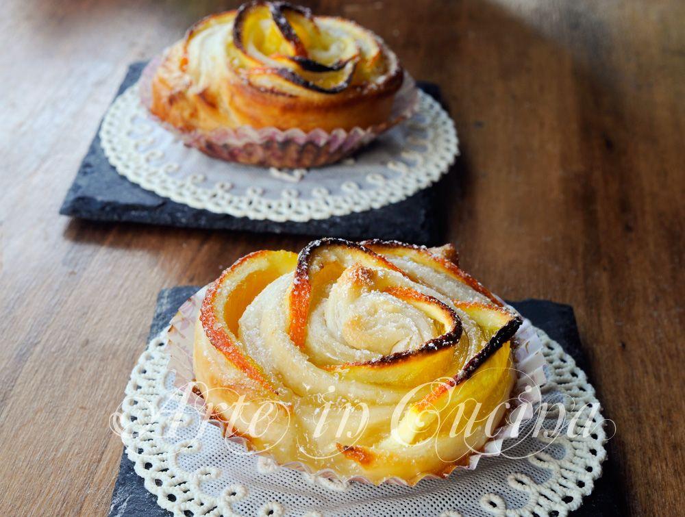 Italian Sfoglia Cake Recipes: Rose Di Sfoglia All'arancia E Crema Pasticcera
