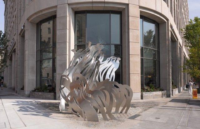 Uplift Outdoor Sculpture