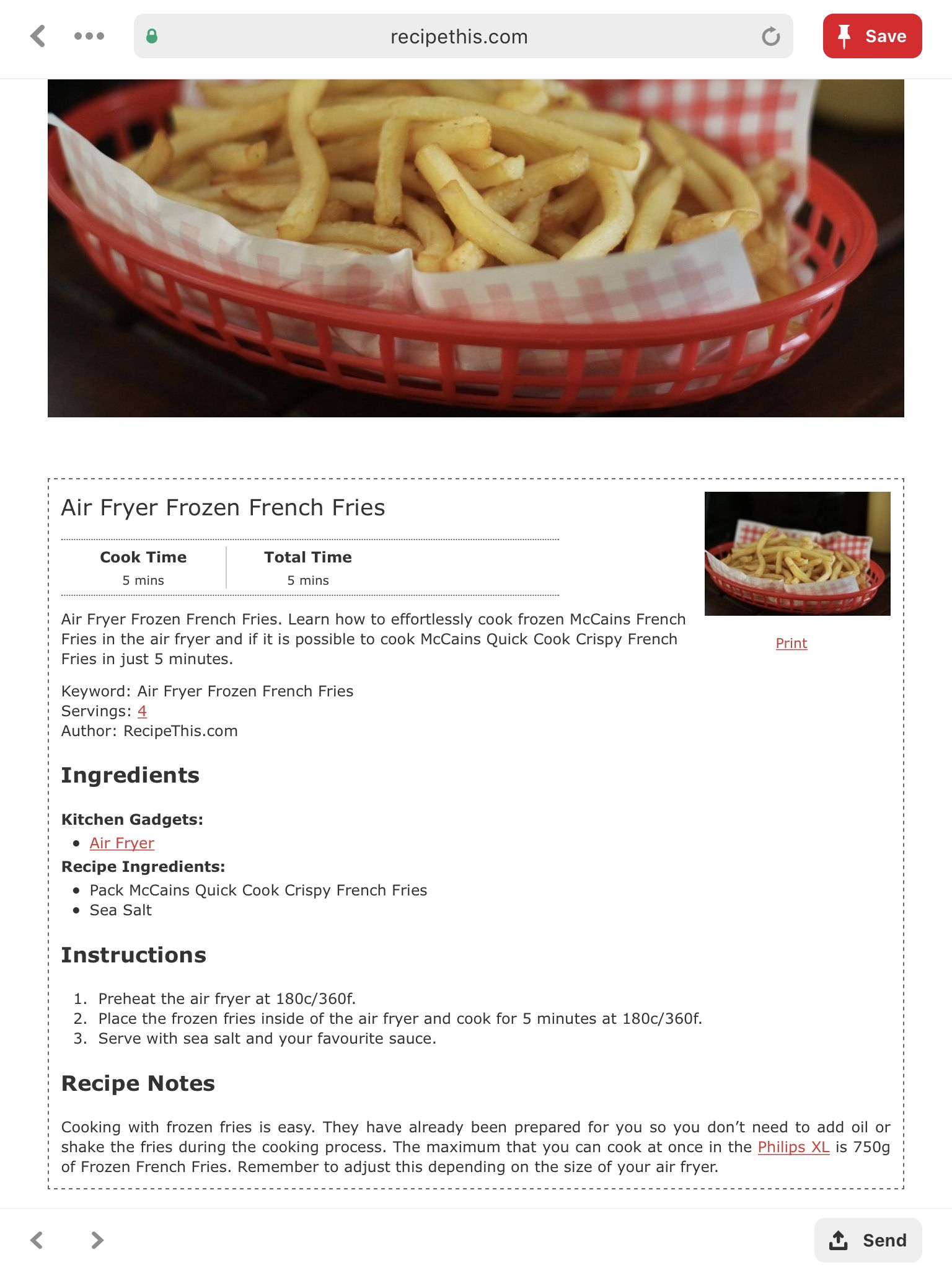 Air Fryer image by Ashley Bracey Air fryer recipes