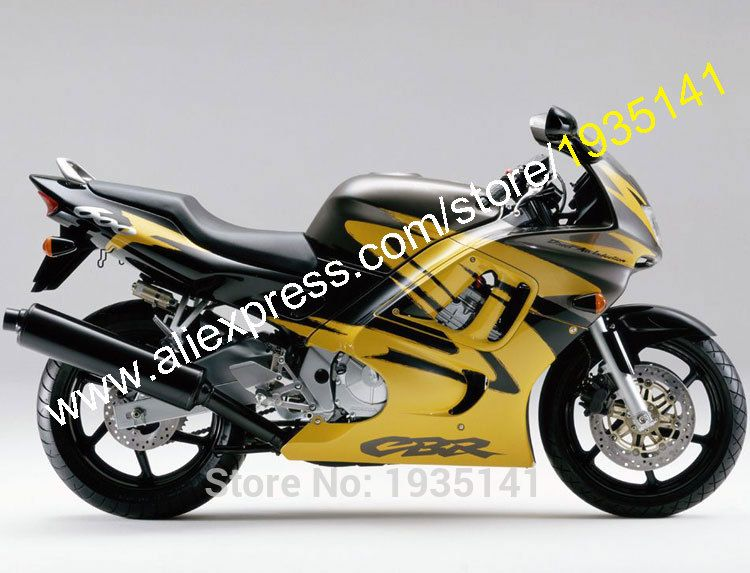 Hot Sales Body Kit For Honda Cbr600 F3 1997 1998 Cbr600f3 97 98 Cbr 600f3 Yellow Black Motorcycle Fairing Injection Mold Motorcycle Accessories Cbr Motorcycle