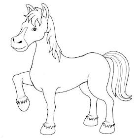 Planse De Colorat Si Fise Pentru Copii Calul Planse De Colorat Cu Animale Domestice Farm Animal Coloring Pages Horse Coloring Pages Animal Coloring Pages