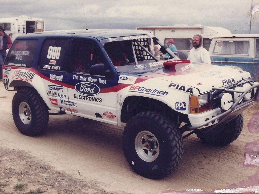 Ford Bfgoodrich Rough Riders A Legacy In Off Road Racing With