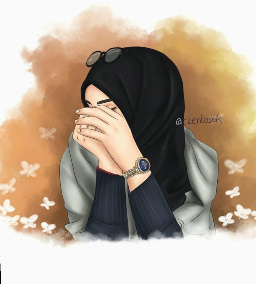 Loading Girl Hijab Girl Cartoon Hijab Drawing