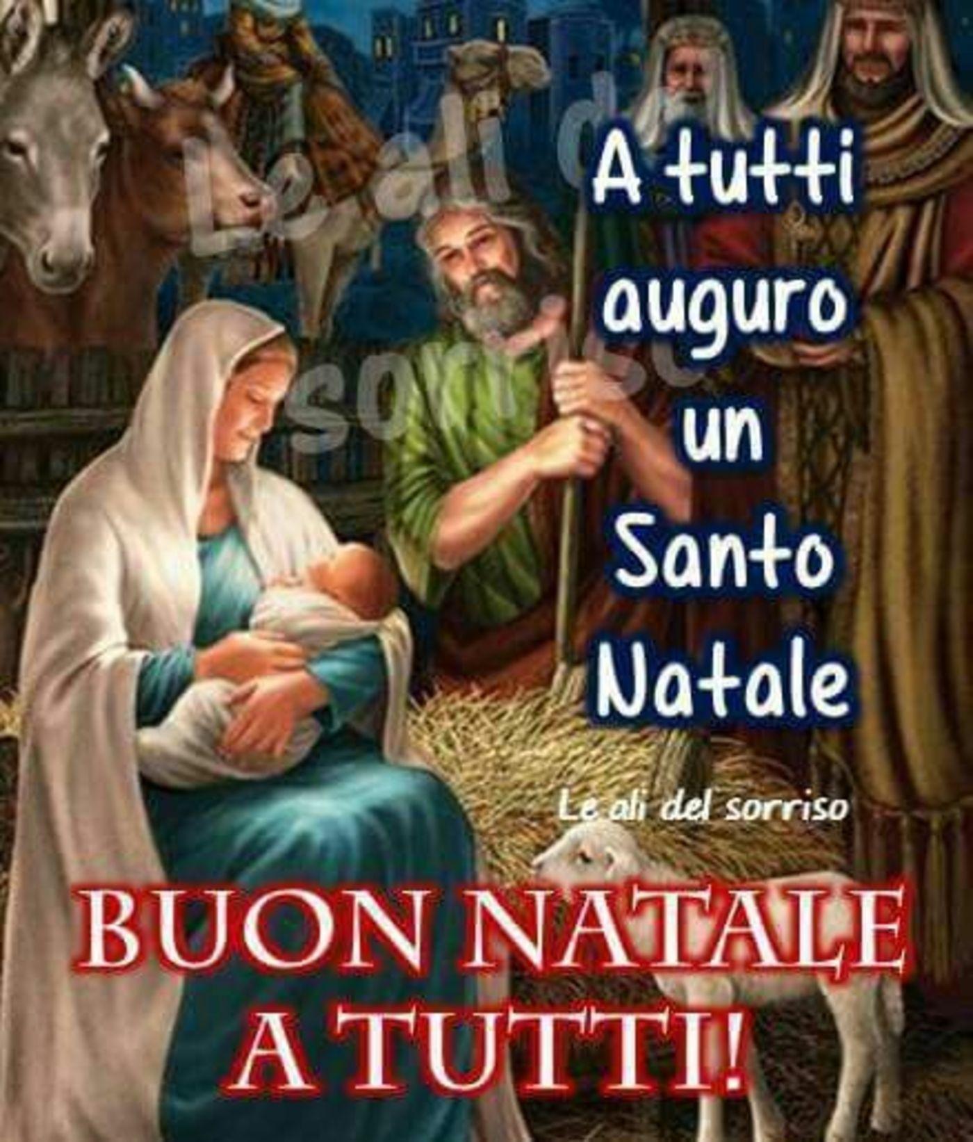 Frasi Religiose Per Il Santo Natale.Buon Natale A Tutti Immagini Religiose Auguri Di Buon