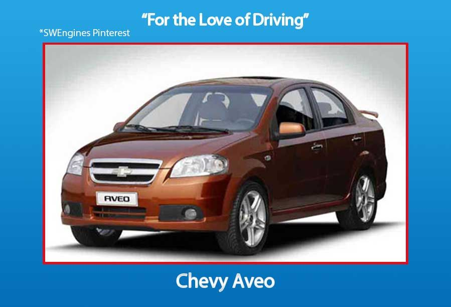 Swengines Check Out The New Chevy Aveo Chevrolet Aveo Car Car Rental