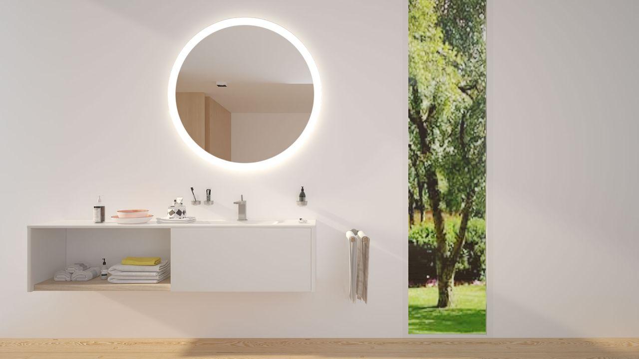 Uranus Badspiegel Bad Spiegel Beleuchtung Spiegel