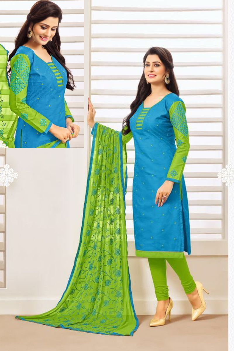 250+ Churidar Neck Designs for Cotton Materials (2020