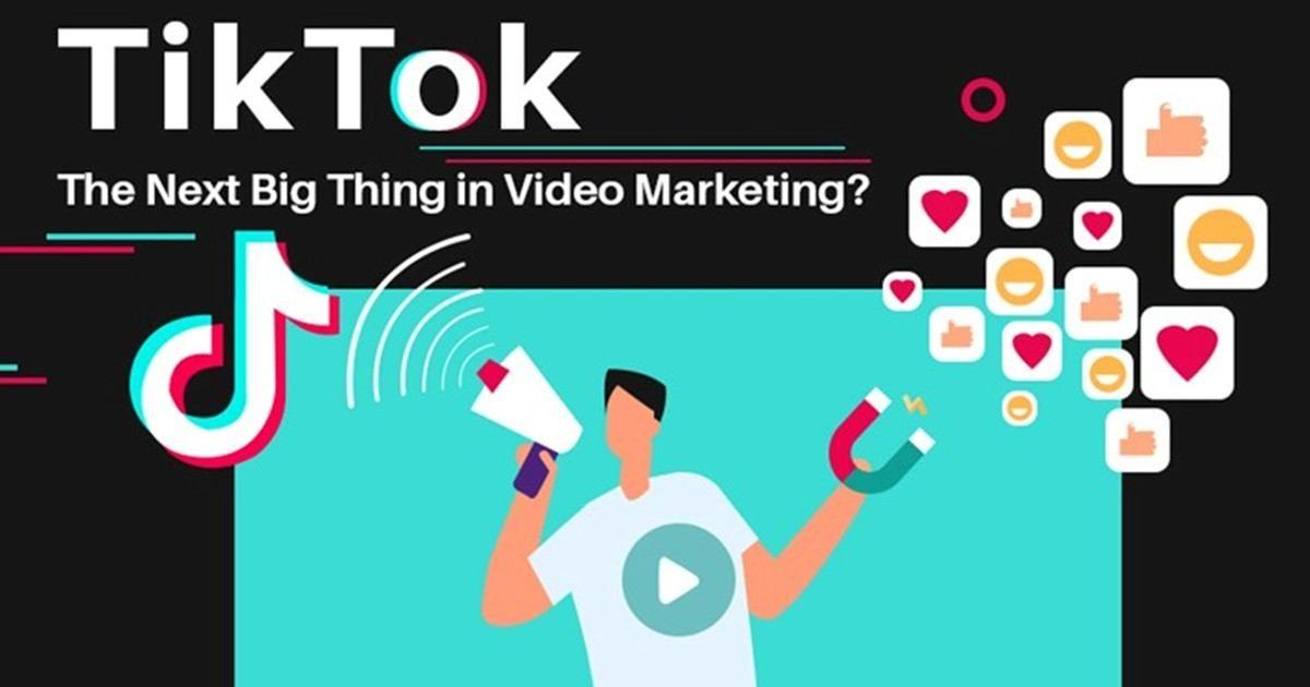 Tiktok The Next Big Thing In Video Marketing Infographic Video Marketing Infographic Infographic Marketing Video Marketing