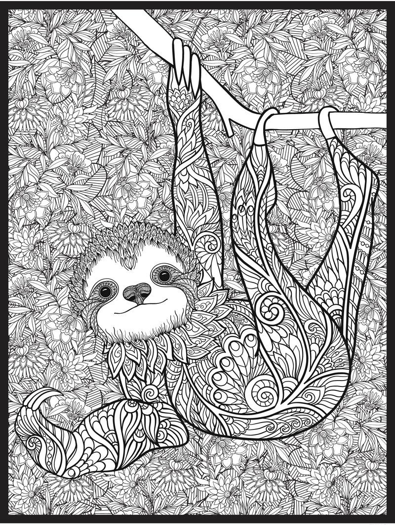 Big Coloring Pages For Adults