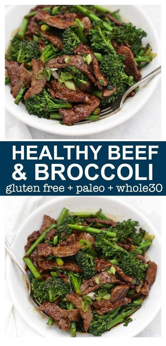 Healthy Beef And Broccoli | Clean Eating Recipes | #tipstravel #cleaneatingforbeginners