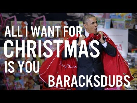Barack Obama Singing All I Want For Christmas Is The Best Song For The Holiday 9gag Tv Obama Singing Mariah Carey Singing