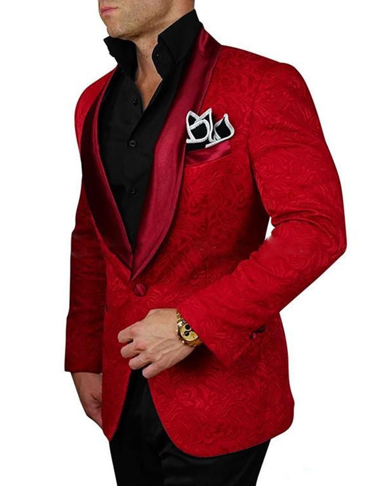 Men's V Neck Vest Long Sleeve Single Button Blazer With Pant Set