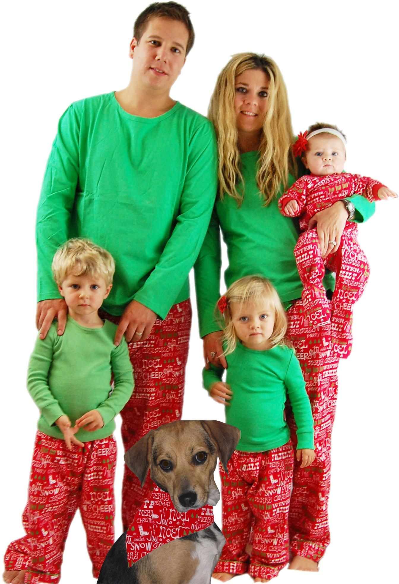 matching jammies for the whole clan? yes please