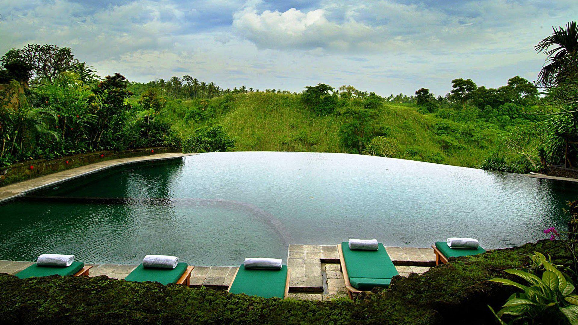 Overlooking stunning greens #Hanging GardensHotel in #Ubud #Bali ...