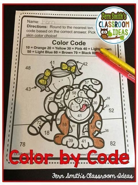 Third Grade Go Math Chapter One Color Your Answers Printables