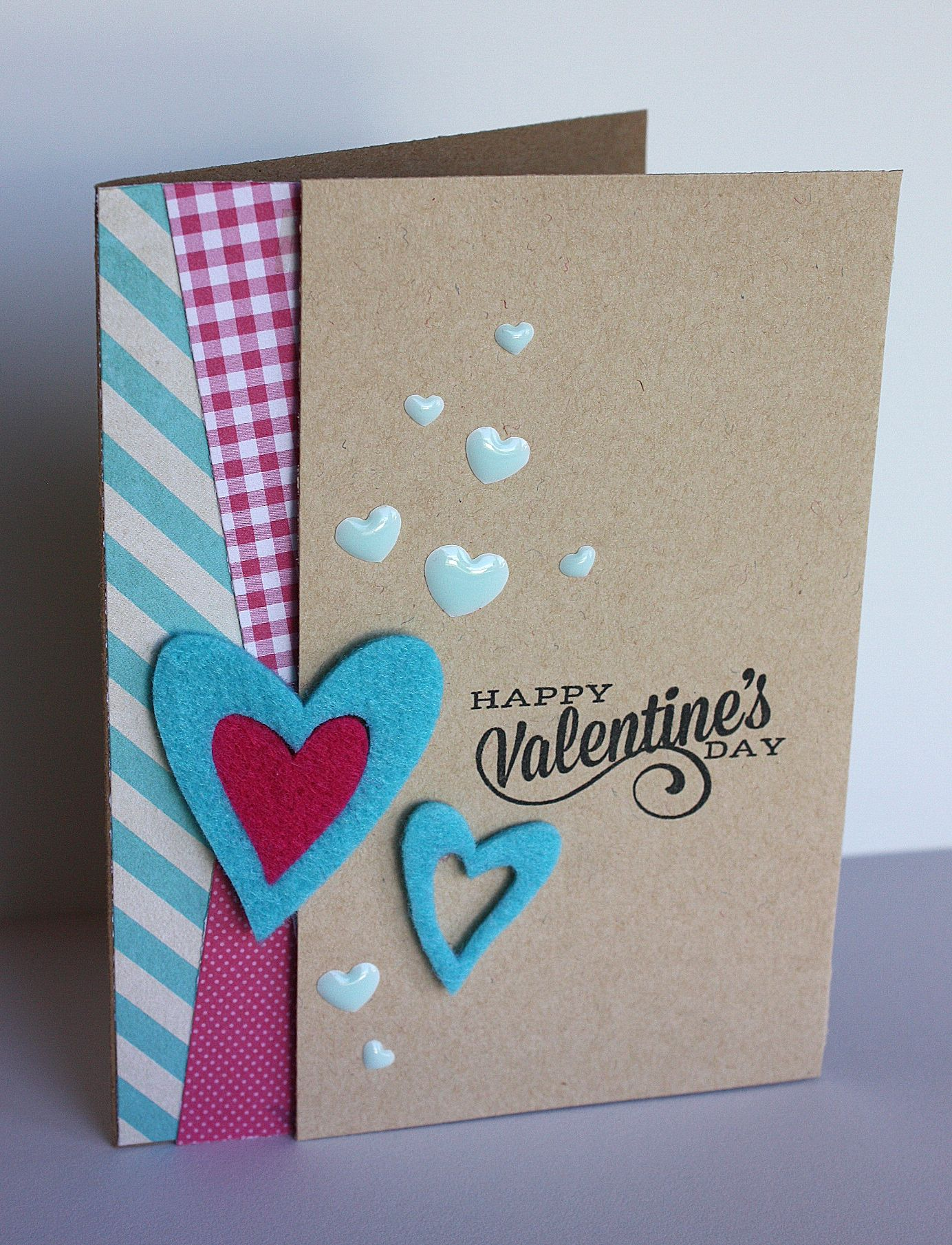 Valentine's card by Beth Opel for Creative Remix challenge with @mbelles