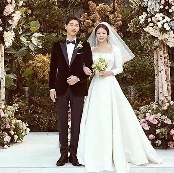 Christian Dior Reveals How Song Hye Kyo S Wedding Dress Was Created
