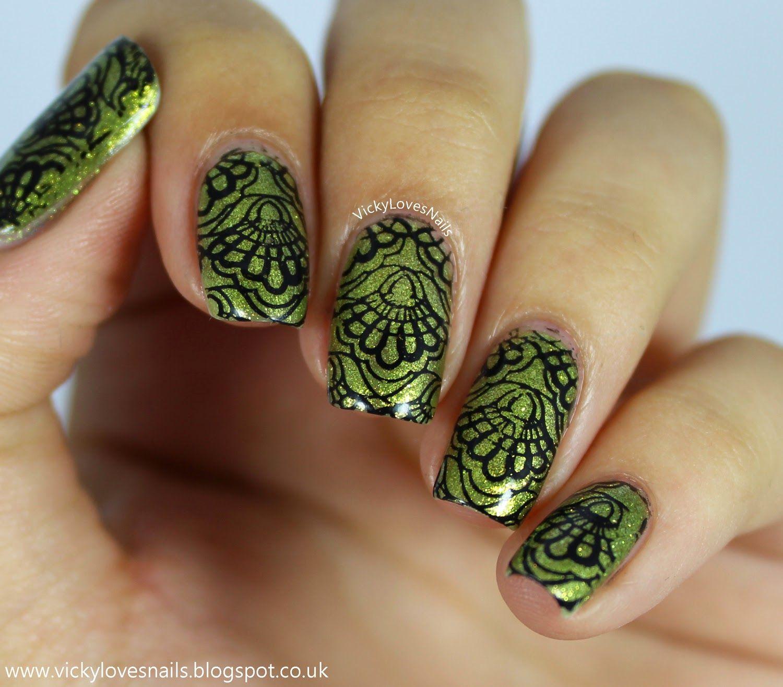 Vicky Loves Nails!: Green Nails for Depression #fightforlightandlive ...