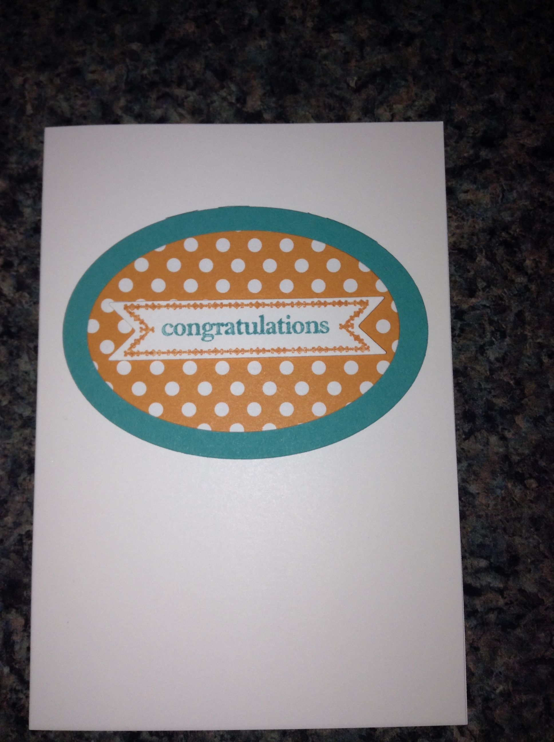 a simple and easy card to make  simple cards stampin up