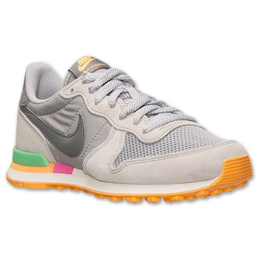 Nike Internationalist Damen Grün Grau Schwarz Sportschuhe