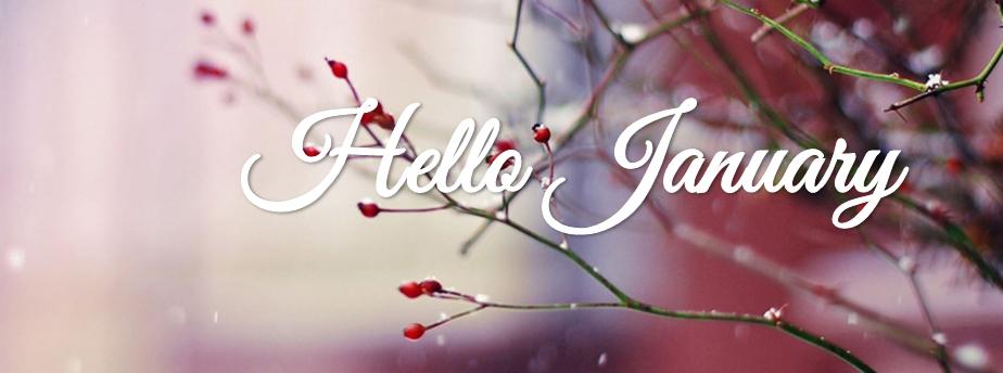 Hello January wallpaper Pinterest Winter facebook